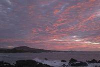 Sunset on the Coast of Kona